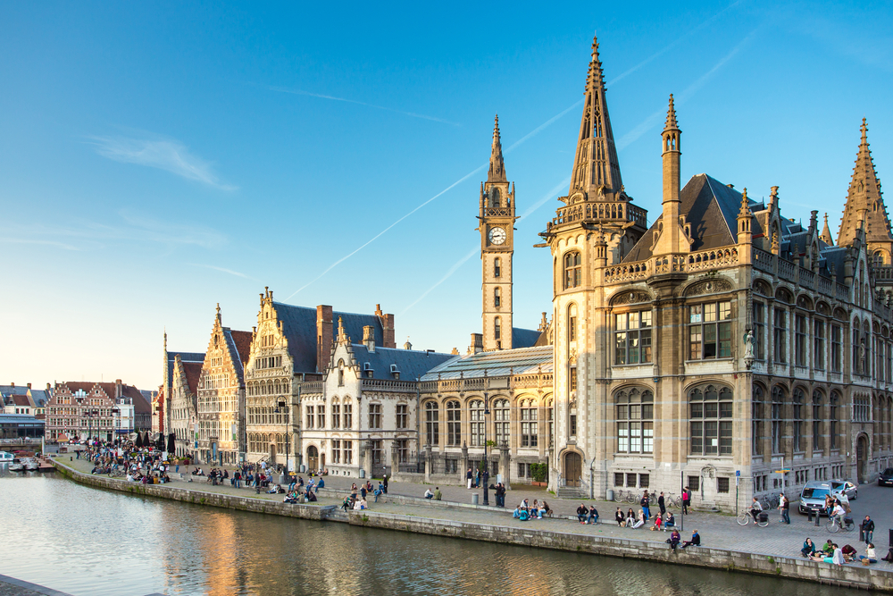 things-to-do-when-visiting-gent-canal-tours-city-centre