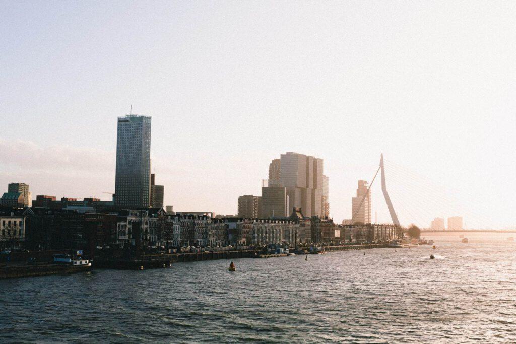 Photo-of-Rotterdam-cityscape-houses-in-Rotterdam