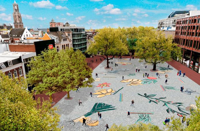 Vredenburg Markt Mosaic was a Dutch Fail
