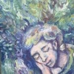 dreamer – ade_le du plessis – oil on canvas