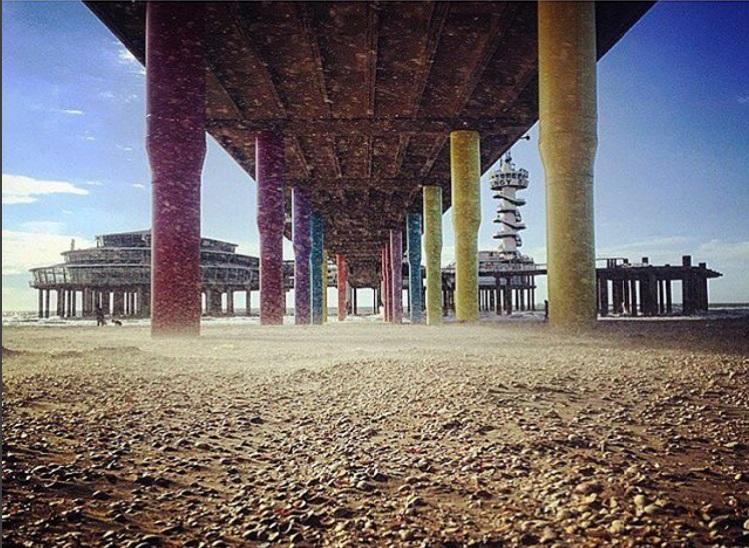 """""""Under the boardwalk"""" (by @femke_de_laat)"""