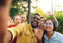 picture-of-group-of-diverse-people-taking-a-selfie-picture