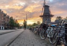 holland-netherlands-bike-windmill