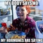 hormones meme