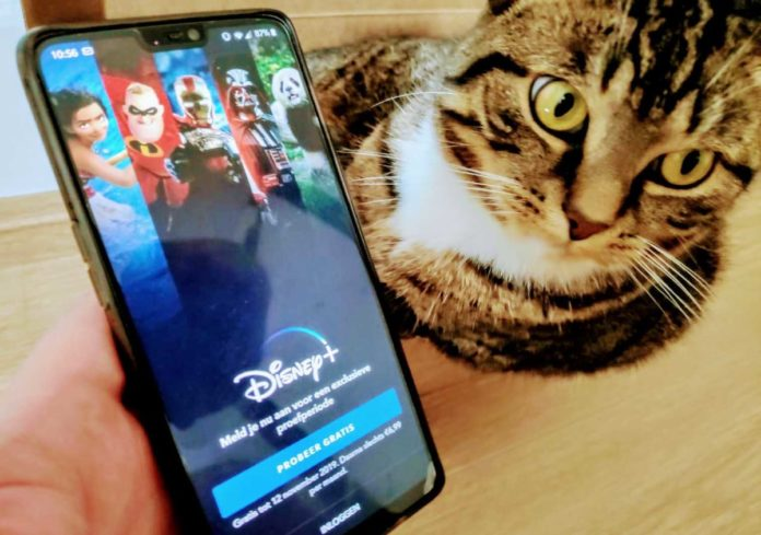 disney + plus in the Netherlands for free trial