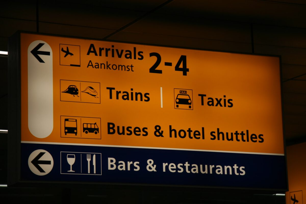 photo-of-a-sign-at-schiphol-airport