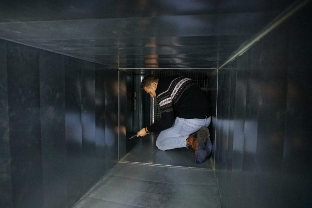 crawlspace tunnel bunker