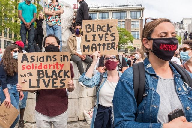 Black-Lives-Matter-protest-Amsterdam