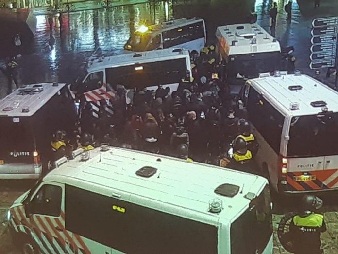 kurds turks rotterdam police photo