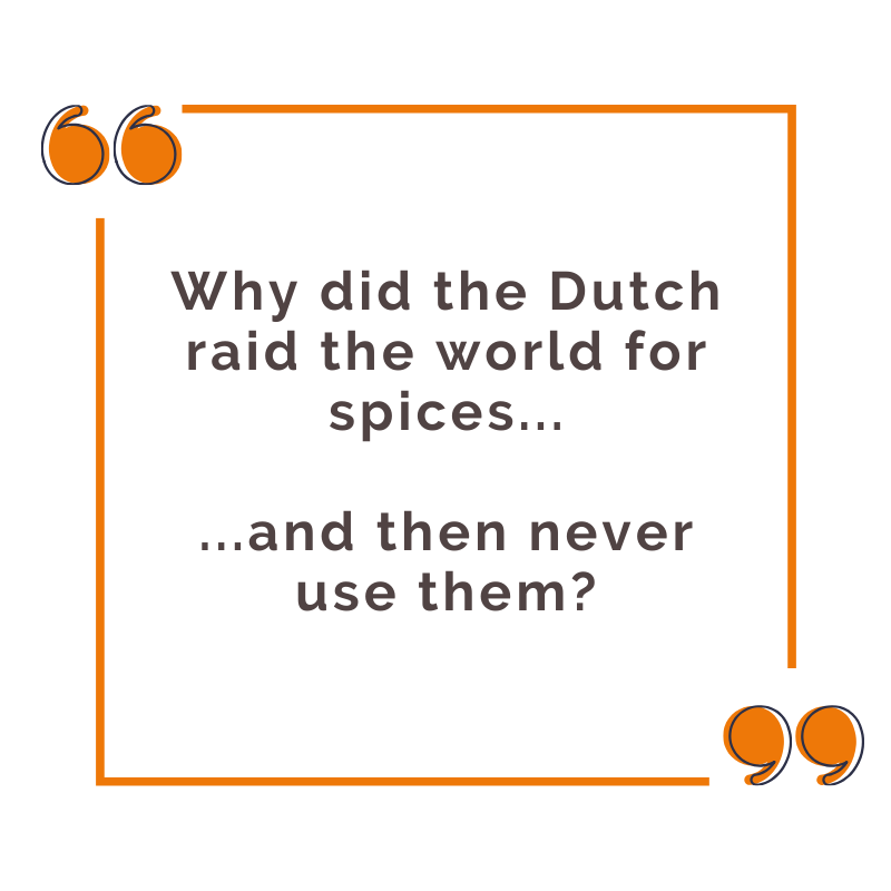 dinner in the netherlands meme with spices