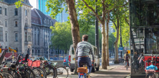 photo-of-man-in-hague-riding-bike-after-moving-to-netherlands