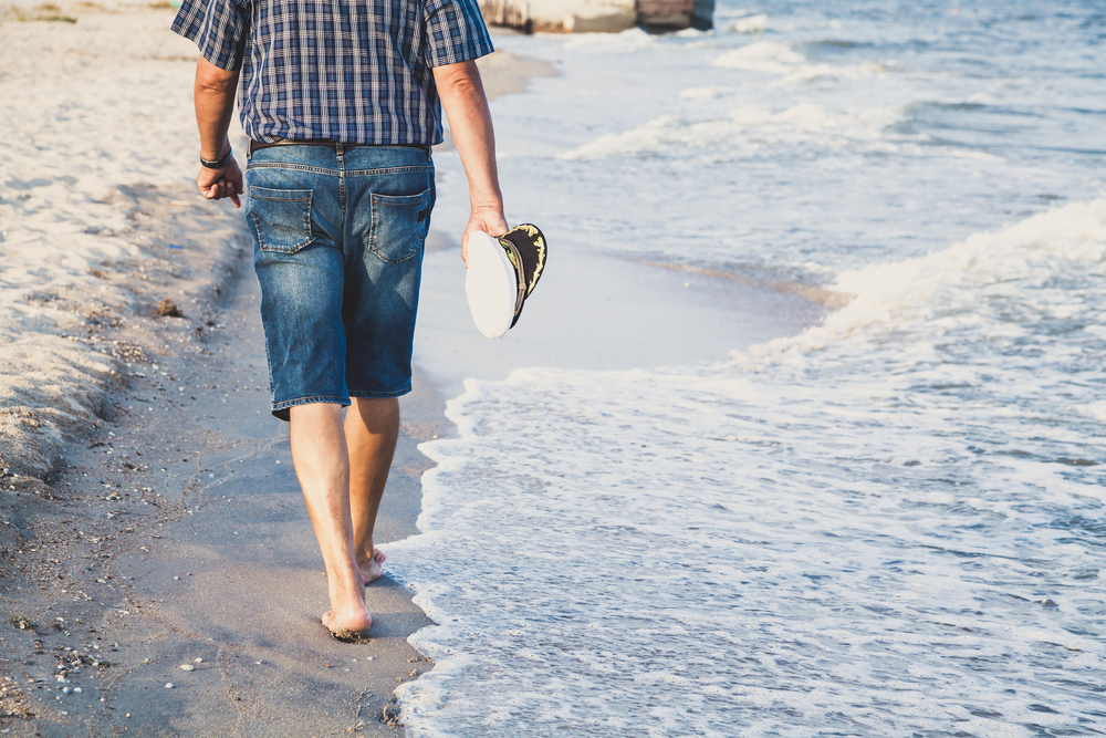 picture-of-man-walking-on-beach