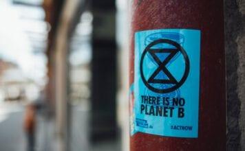 photo-of-extinction-rebellion-sticker
