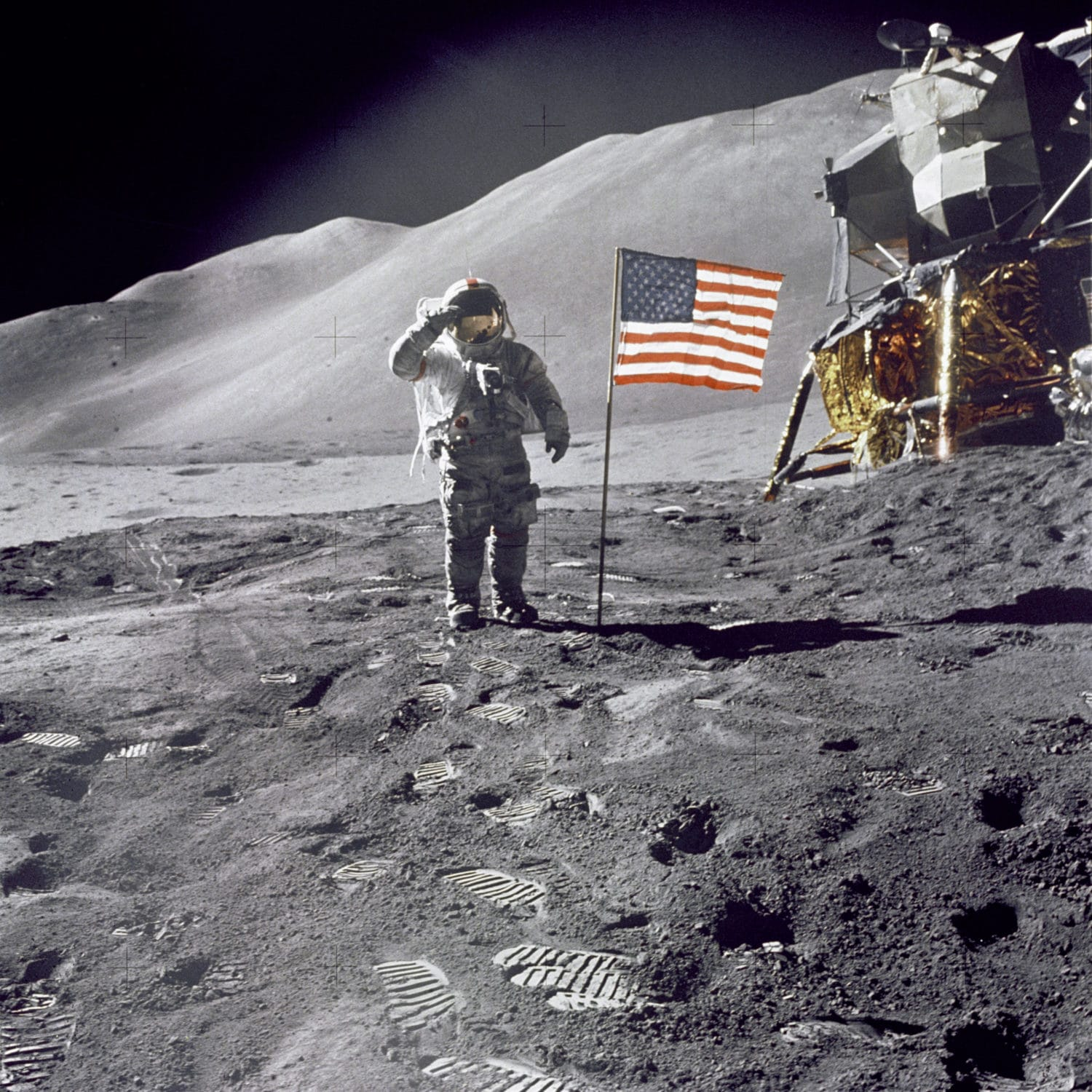 the moon landing - HD 1500×1500