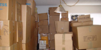moving boxes - house hunting