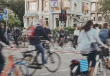 Photo-of-people-cycling-Amsterdam-the-Netherlands