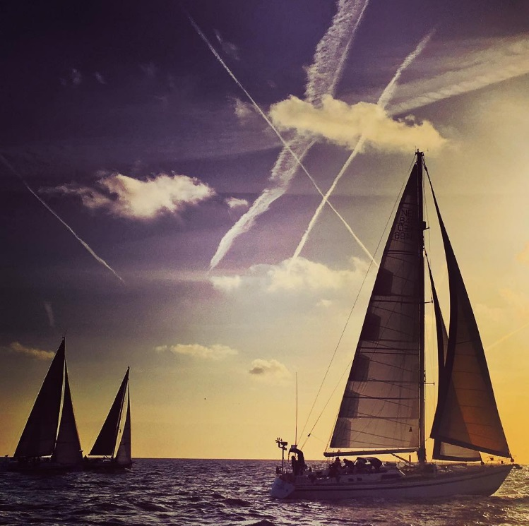 Every year the sailing contest 'North Sea Regatta' produces just the best scenic pics of Scheveningen and the North Sea (by @northsearegatta)