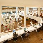 Interior of the Public Library Amsterdam
