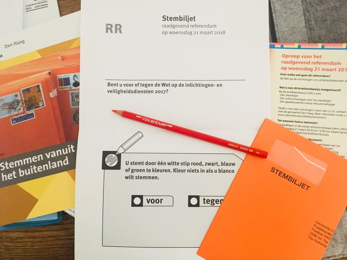 Oranje Stem Envelope Dutchreview