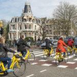 Amsterdam bicycle traffic