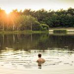 people-girl-swimming-lake