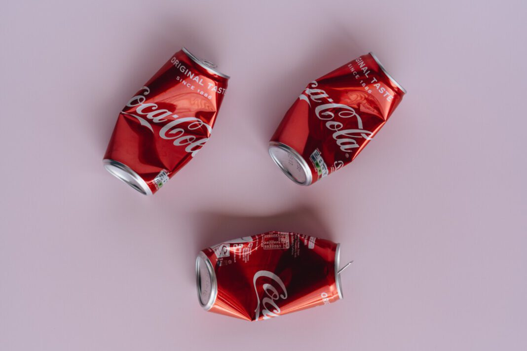 photo-of-crushed-coca-cola-cans