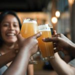 Dutch people toasting coronavirus relaxations