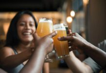 Dutch-people-toasting-new-coronavirus-relaxations-with-beer