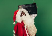 photo-of-santa-holding-boombox-dutch-christmas-music
