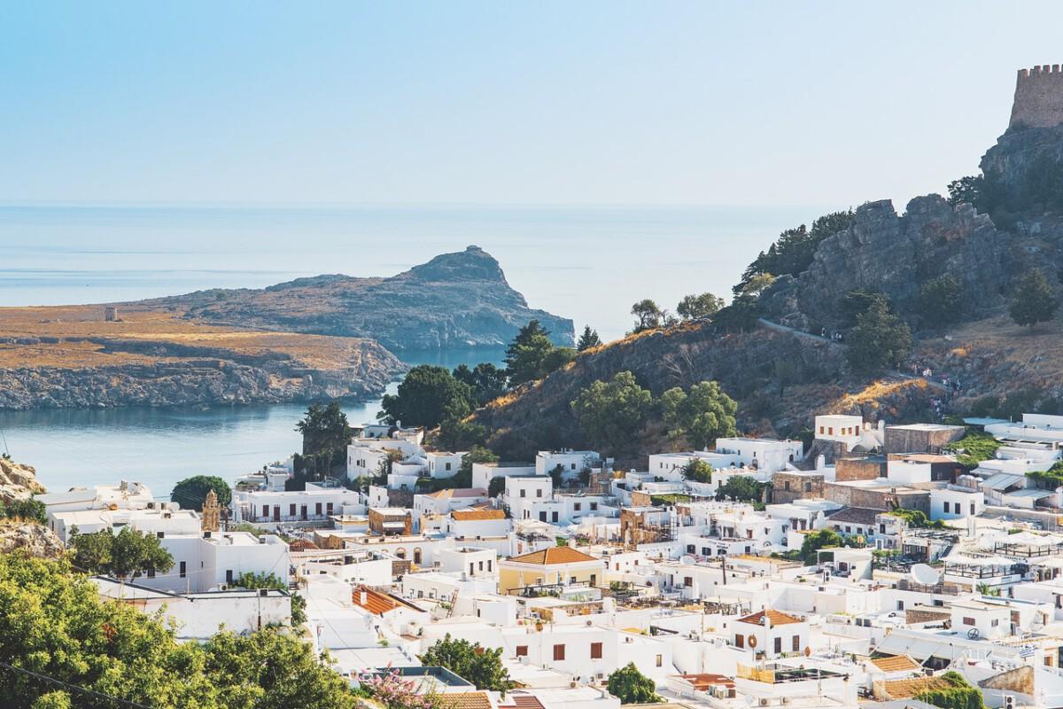 skyline-shot-of-resort-in-Rhodes-Greece