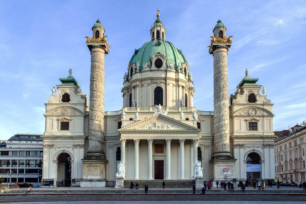 photo-of-karlskirche-in-vienna