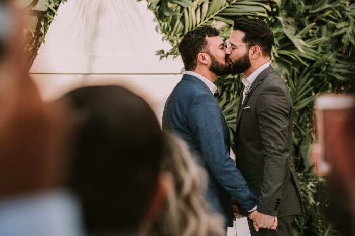photo-of-a-gay-couple-getting-married
