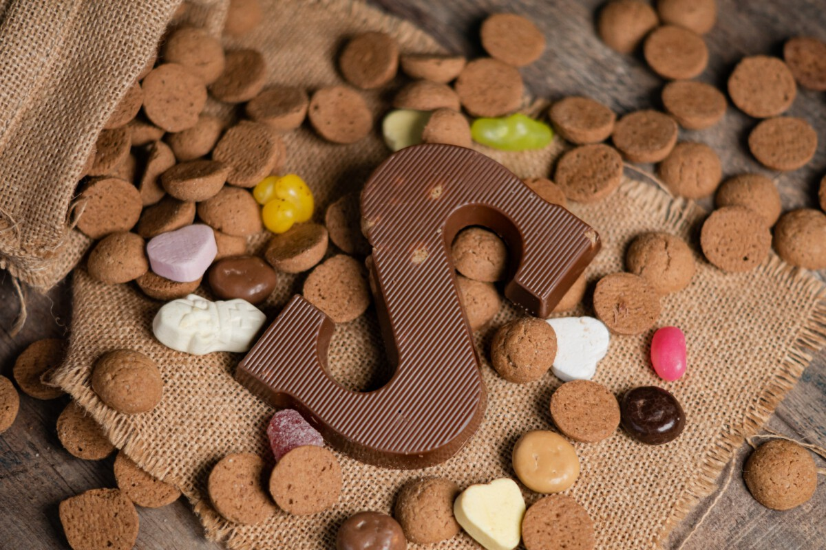 photo-of-a-chocolate-letter-sinterklaas