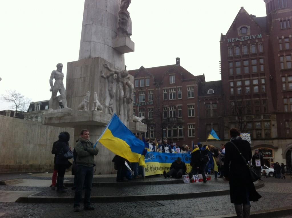 Protesters at Dam Square