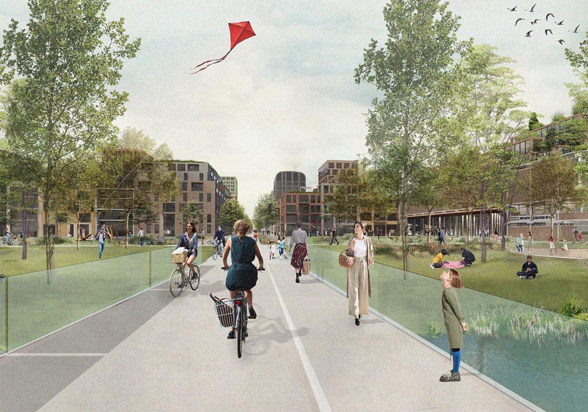 car-free neighbourhood in utrecht