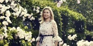 photo-of-queen-maxima-of-the-netherlands-in-garden