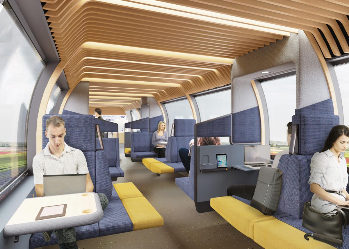 NS Innovative Train Interior