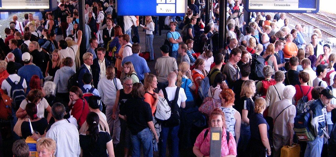 dutch train station