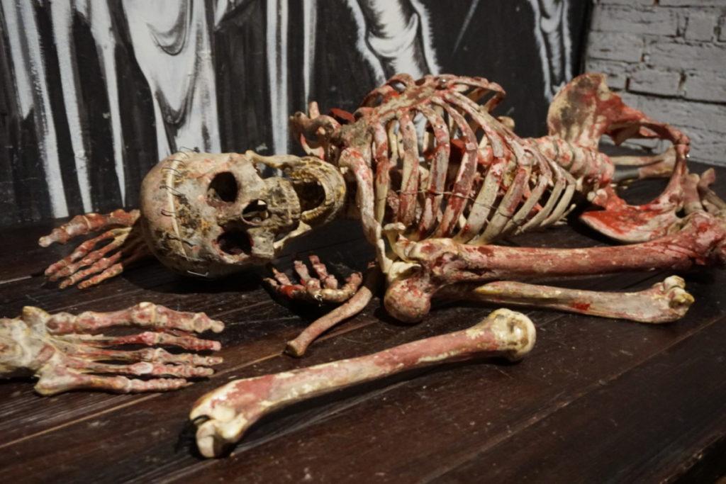 spooky skeleton death