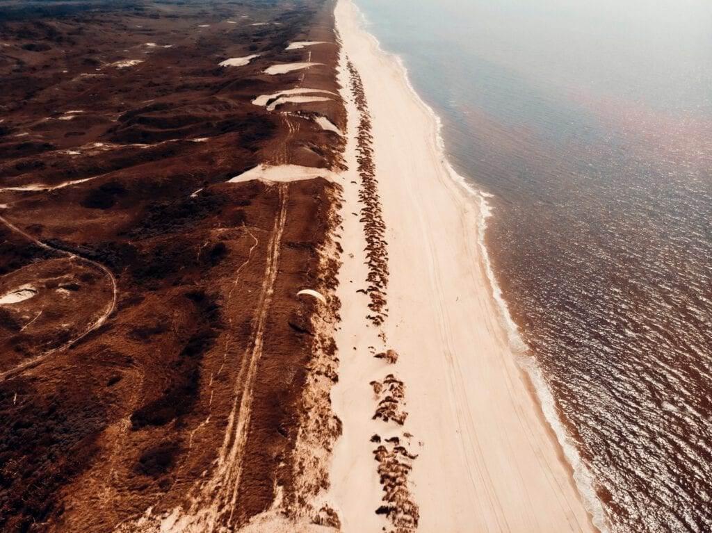 aerial-photo-of-the-beach-in-egmond-aan-zee