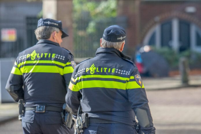photo-of-two-dutch-police-officers-on-street