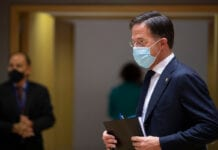 photo-of-dutch-prime-minister-mark-rutte-wearing-face-mask