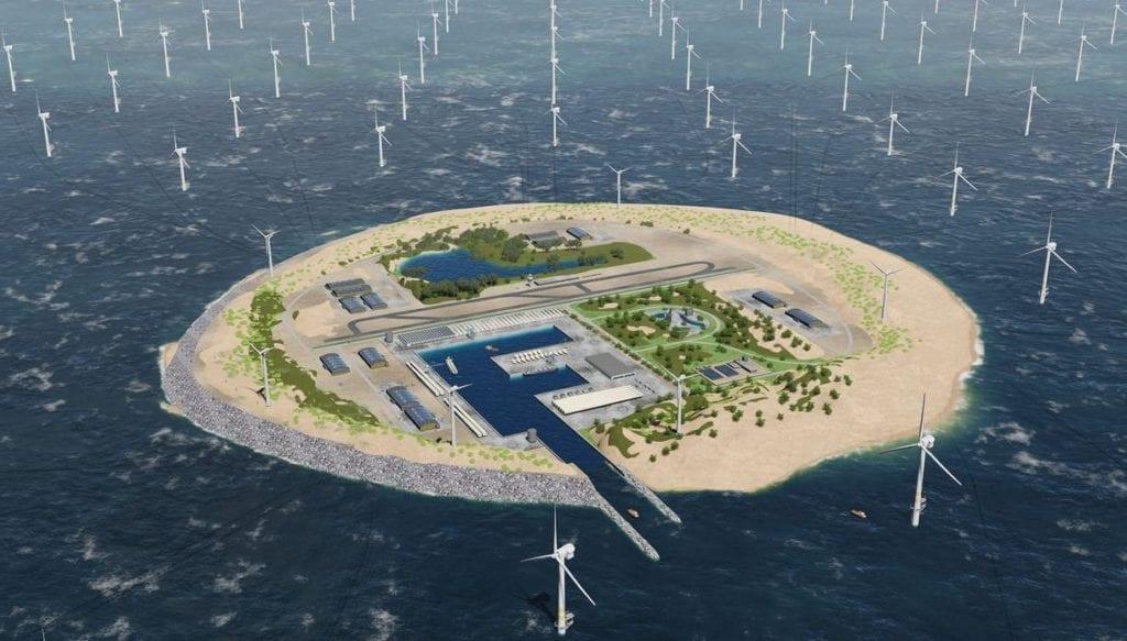 windfarm island