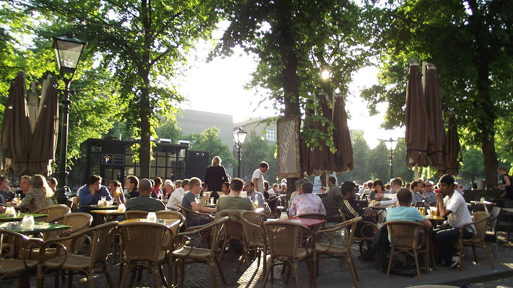 photo-of-terrace-on-plein-square-the-hague