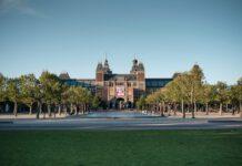 The Rijksmuseum, Amsterdam @ sunset