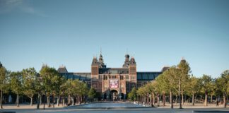 The Rijksmuseum, Amsterdam @ sunset