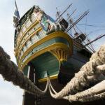 Aft VOC tall Ship stern
