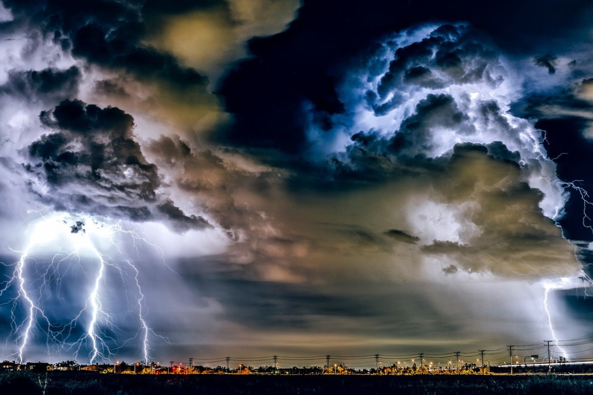 storm in the Netherlands