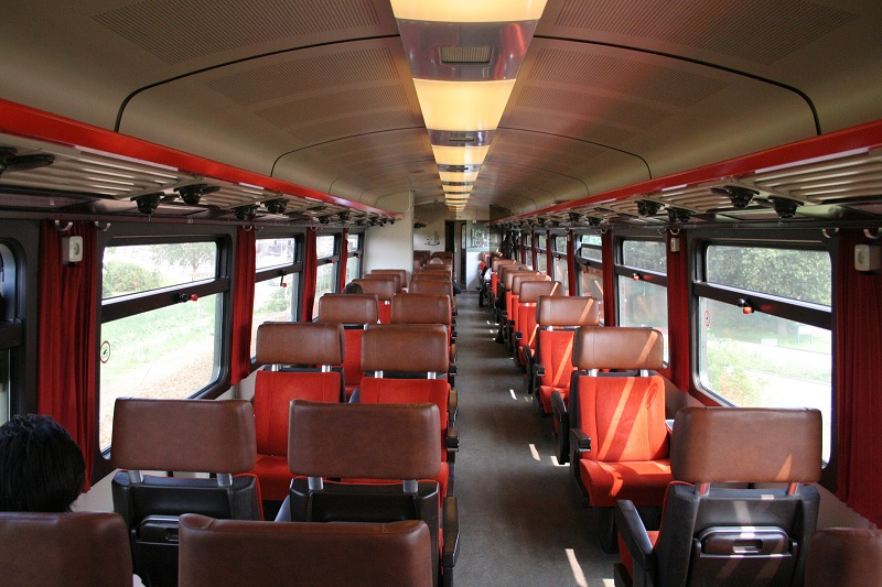 1st class trains in the Netherlands