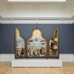 triptych with the last judgment by Ronald Tilleman